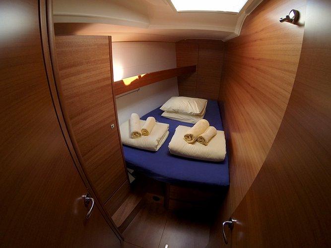 Discover Šibenik region surroundings on this Dufour 460 GL Dufour Yachts boat