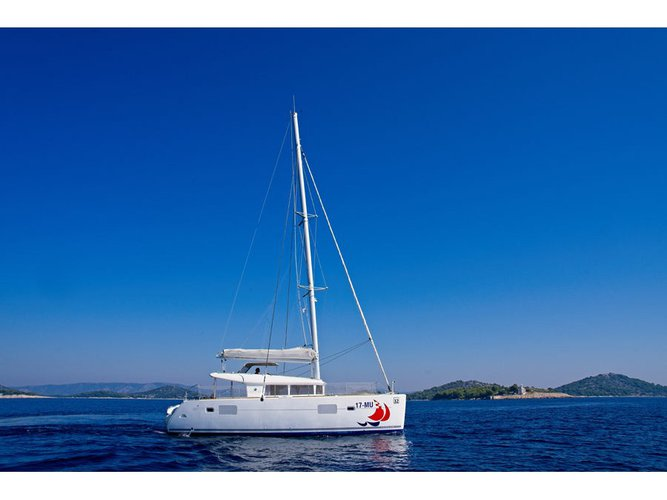 Hop aboard this amazing sailboat rental in Murter!