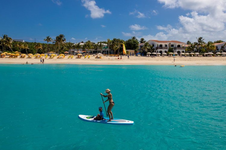 Catamaran boat rental in Pyratz Marina, Sint Maarten