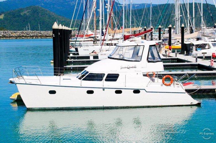 Catamaran boat rental in Abel Point Marina,, Australia