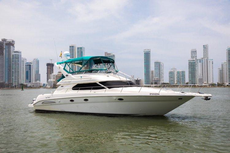 Sea Ray's 45.0 feet in Cartagena