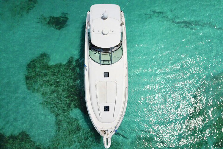 Discover Charlotte Amalie surroundings on this 460 Sundancer Sea Ray boat