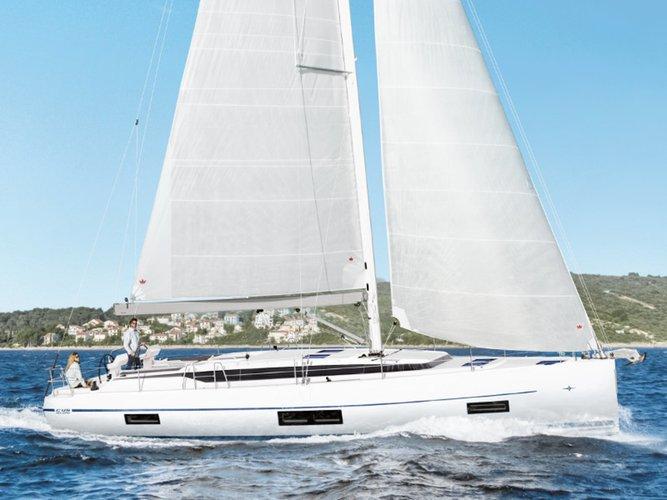 Enjoy Athens, GR to the fullest on our comfortable Bavaria Yachtbau Bavaria C45 (5 cbs)