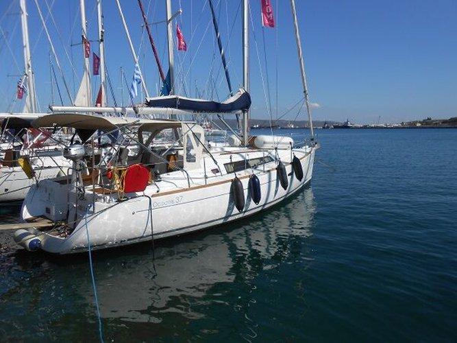 Rent this Beneteau Oceanis 37 for a true nautical adventure