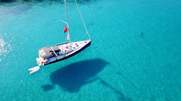 Beneteau boat for rent in Mediterranean