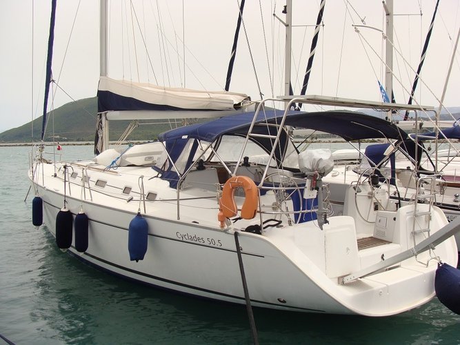 Boating is fun with a Beneteau in Lefkada