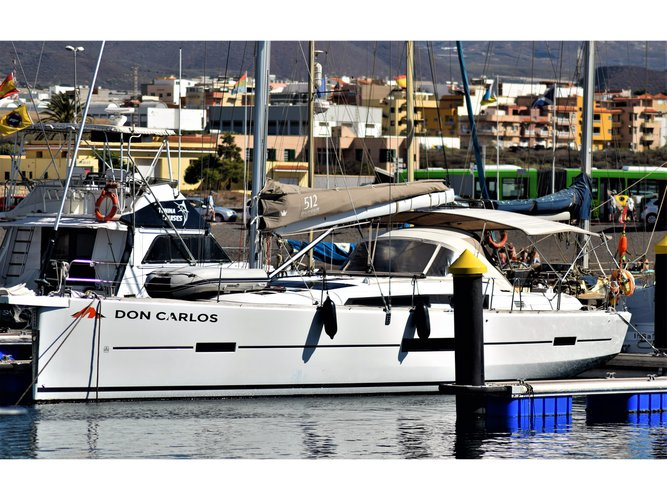 Experience Arrecife, ES on board this amazing Dufour Yachts Dufour 512 GL