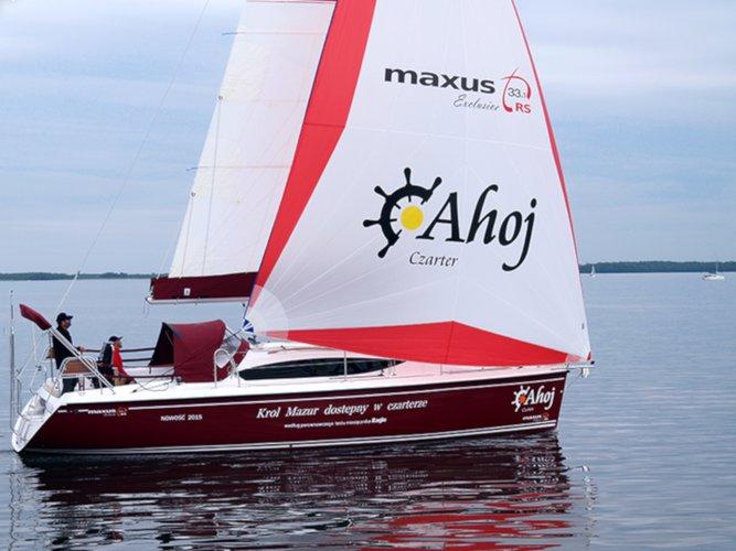 Experience Węgorzewo on board this elegant sailboat