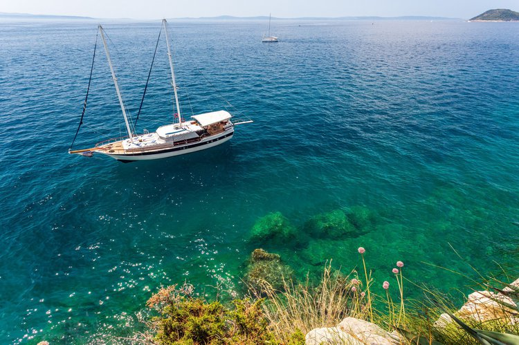 Gulet boat rental in ACI Marina Split, Croatia