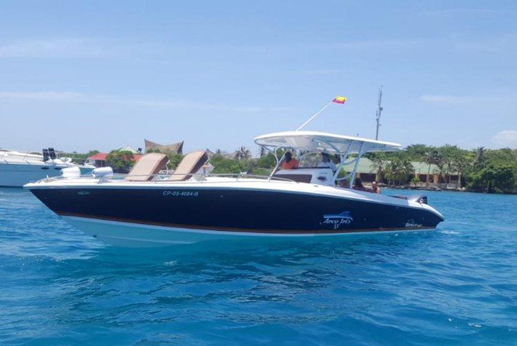 Motor boat boat for rent in cartagena