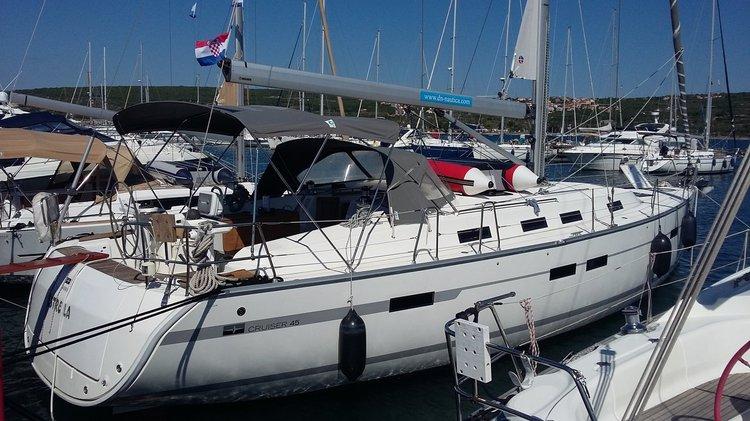 Discover Kvarner surroundings on this Bavaria Cruiser 45 Bavaria Yachtbau boat