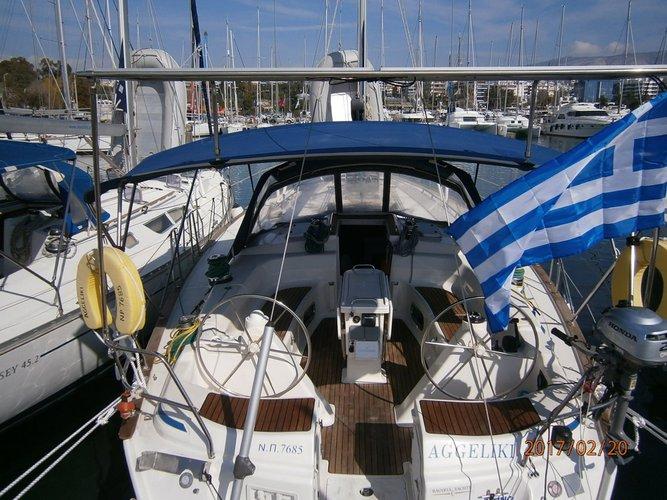 Enjoy luxury and comfort on this Saronic Gulf sailboat charter