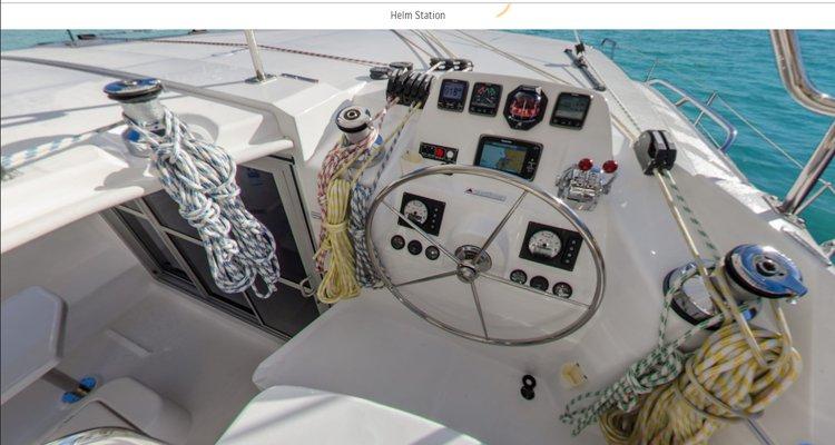 Catamaran boat for rent in Shute Harbor