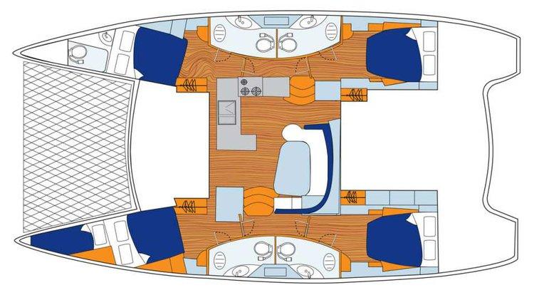 Discover Tortola surroundings on this 454 Custom boat