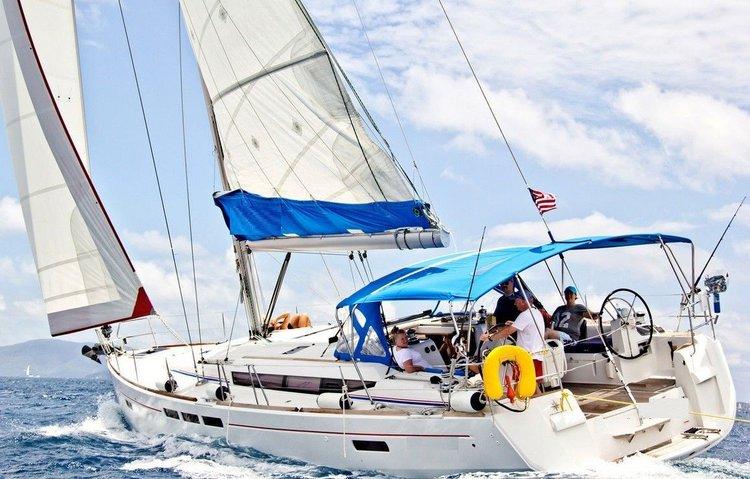 Monohull boat rental in Wickhams Cay II Marina, British Virgin Islands