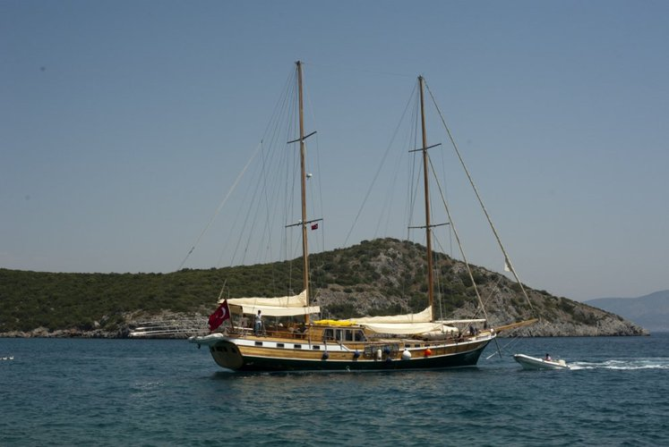 This 89 ft gulet is the perfect choice for sailing in Turkey