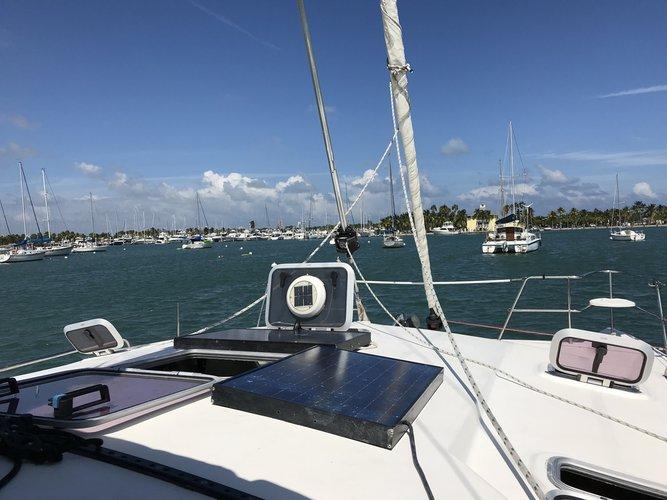 Catamaran boat rental in Crandon Park Marina, FL