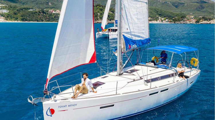 Boating is fun with a Monohull in Ionian Islands