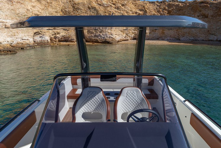 Boating is fun with a Motor boat in Athens-Hellinikon
