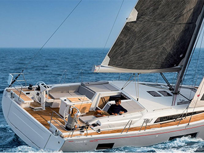 Get on the water and enjoy Athens in style on our Beneteau Oceanis 46.1 (5 cab)