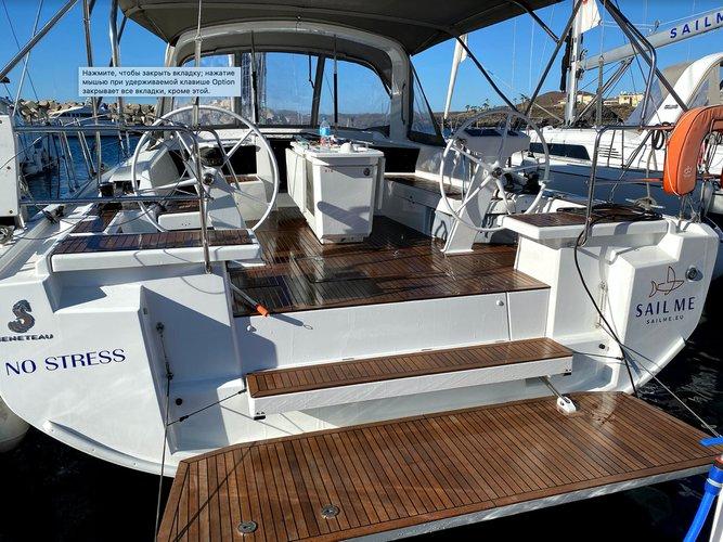 Enjoy luxury and comfort on this Beneteau Oceanis 46.1 in Ibiza