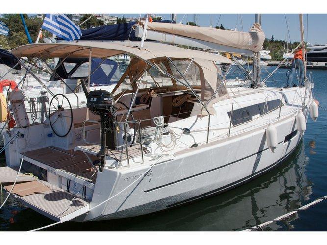 Hop aboard this amazing sailboat rental in Nikiti - Chalkidiki!