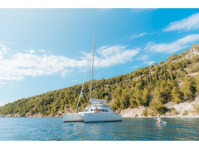 The best way to experience Split is by sailing