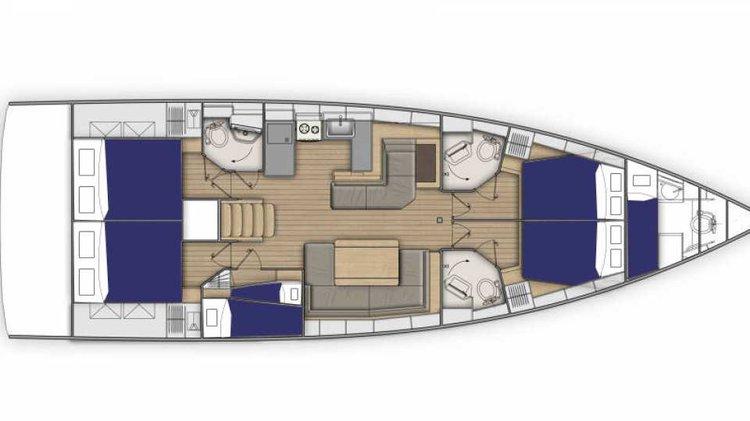 Amazing sail boat for rent in Amalfi Coast, Procida, ideal for fun in the sun
