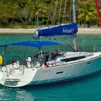 Monohull boat for rent in Kerkira
