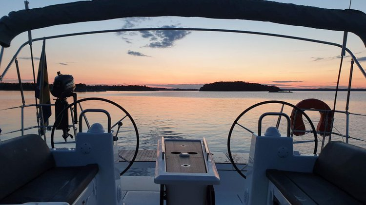 Dufour boat for rent in Saltsjöbaden