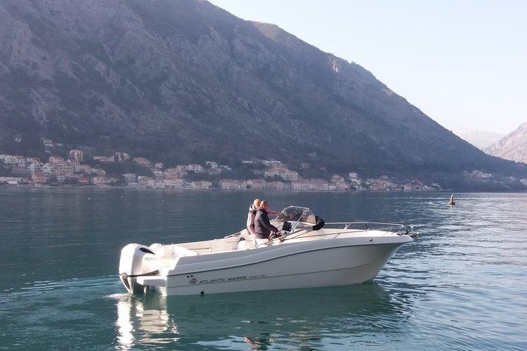Motor boat boat rental in kotor, Montenegro
