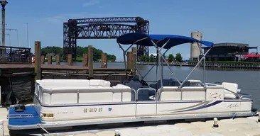 Enjoy Our 15 Passenger Pontoon Boat on Beautiful Lake Erie