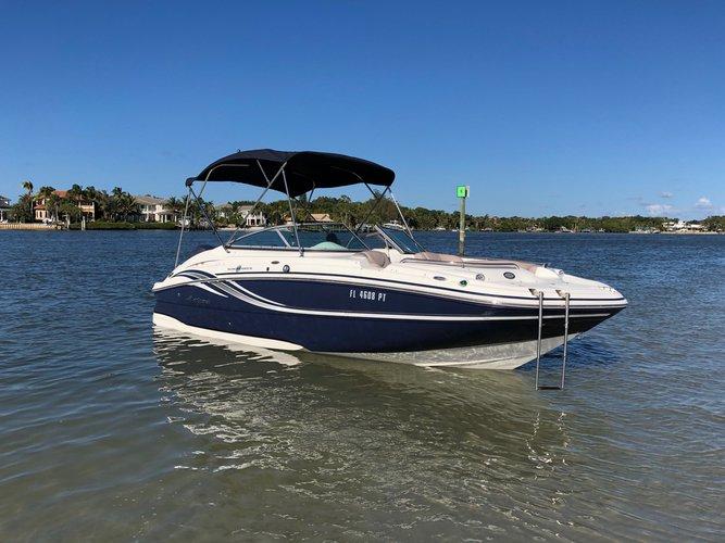 Deck boat boat rental in Suntex Marina, FL