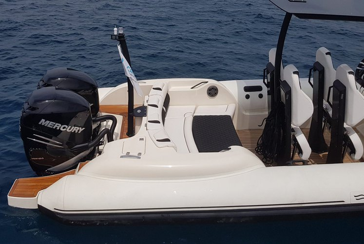 Boating is fun with a Rigid inflatable in Athens-Hellinikon