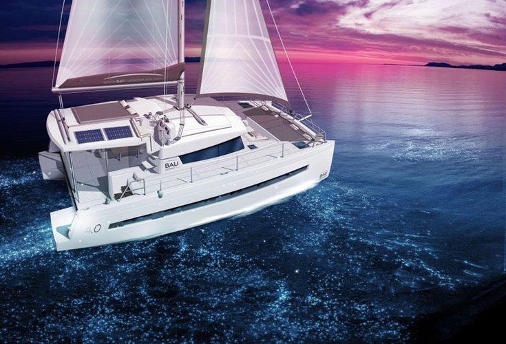 Fun in British Virgin Islands Waters aboard Bali 4.0 catamaran