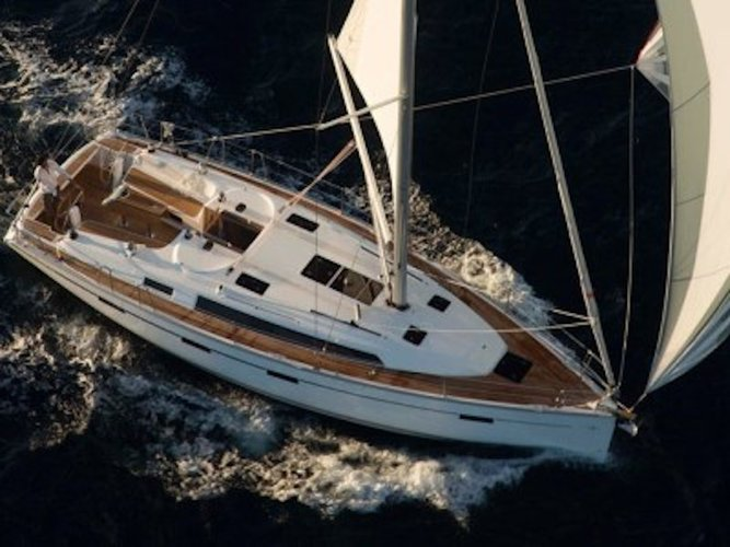 All you need to do is relax and have fun aboard the Bavaria Yachtbau Bavaria 41