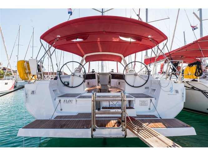Take this Beneteau Oceanis 48  for a spin!
