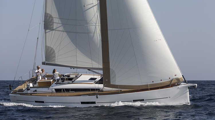 Holiday time with friends and Family in British Virgin Islands aboard Dufour 460