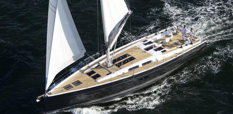 Enjoy luxury and comfort on this Hanse Yachts Hanse 575 in Split region