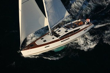 Sailing around the Annapolis a pleasure on a superb Jeanneau 53