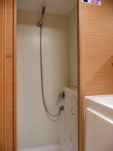 Interior - shower (photo taken 2019)