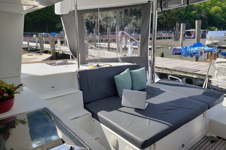 Boat for rent Lagoon 46.0 feet in Alpine Marina, NJ
