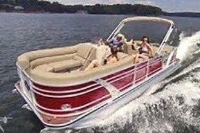Great Fun on Beautiful Lake Erie With Avalon Tritoon