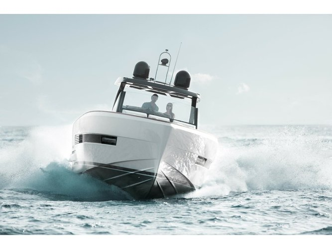 Experience Denia, ES on board this amazing Fjord Boats A.S Fjord 44 Open