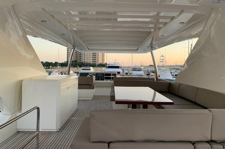 Motor yacht boat rental in Palm Harbor Marina, FL
