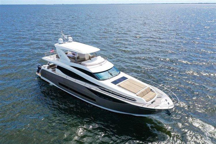 Stunning Prestige 75' Flybridge Motor Yacht