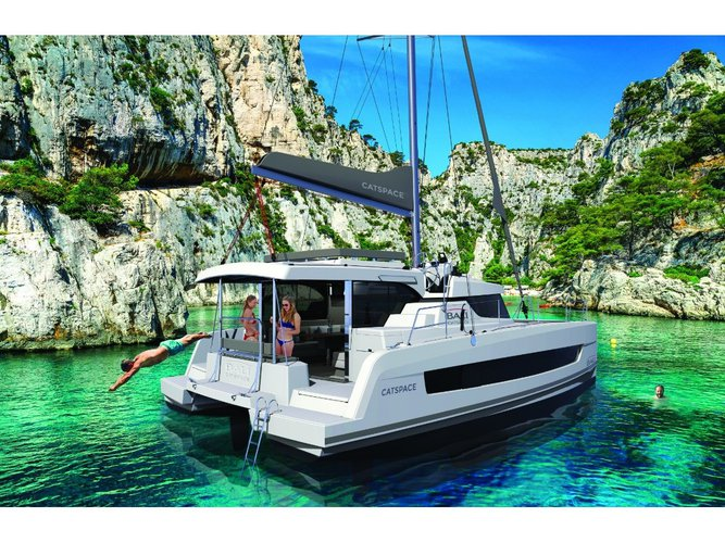 Hop aboard this amazing sailboat rental in Porto Rotondo!