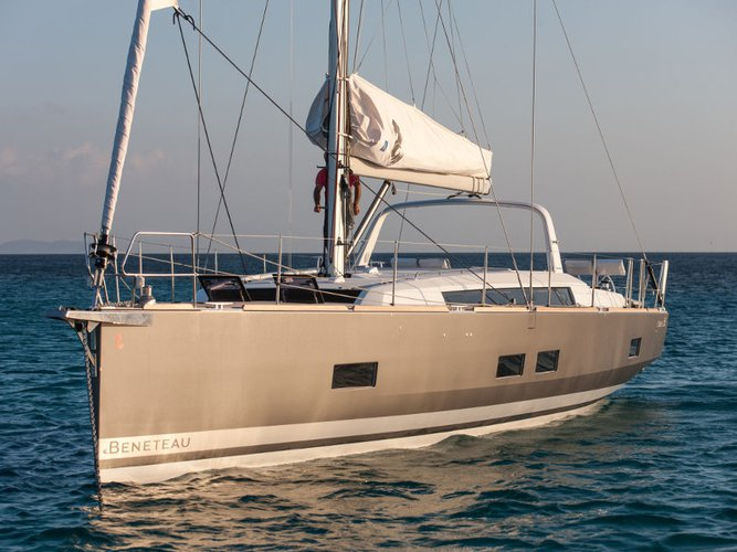 Charter this amazing Beneteau Oceanis 55 in Denia, ES