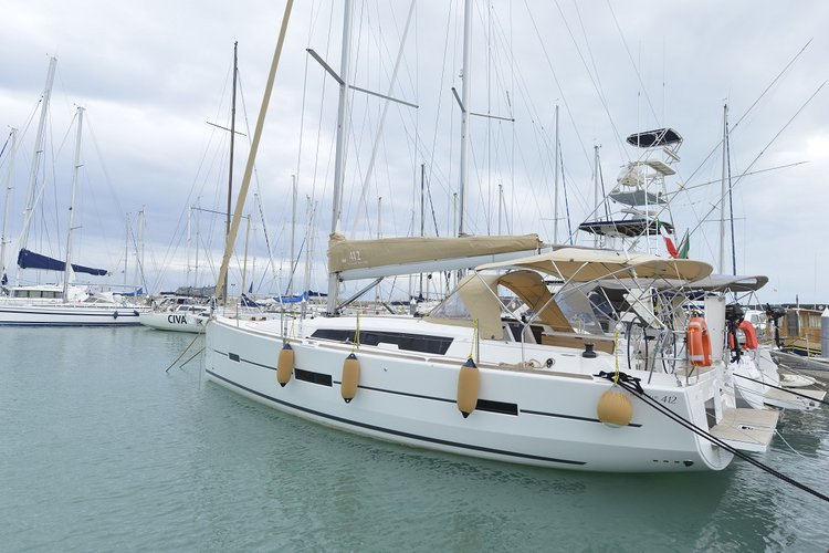 Boating is fun with a Dufour Yachts in Tuscany