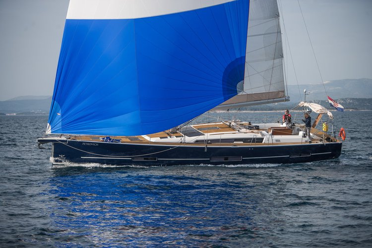 Jump aboard this beautiful Dufour Yachts Dufour Exclusive 56